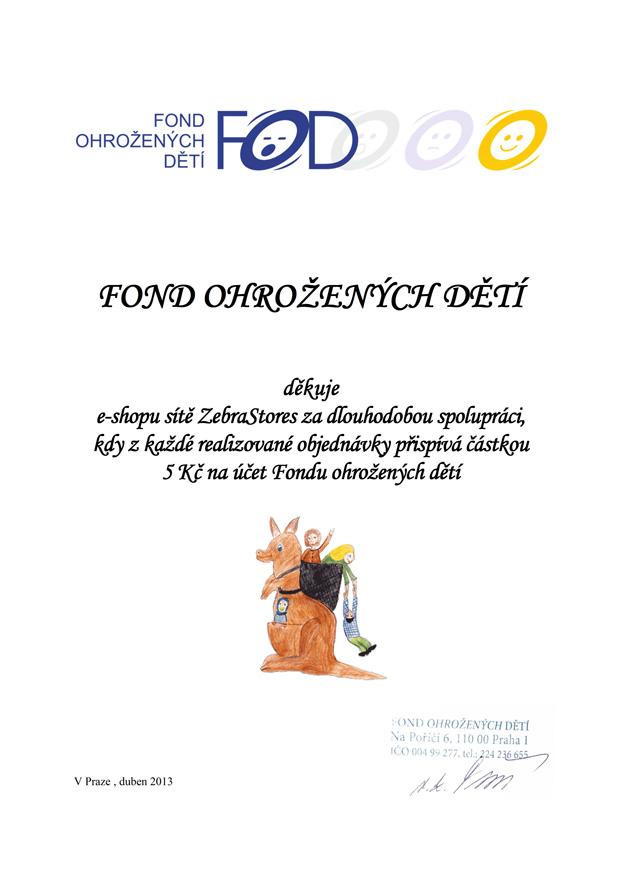 Certifikát FOD