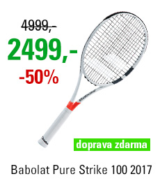 Babolat Pure Strike 100 2017