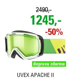 UVEX APACHE II, transculent mat/glow green S5506310722