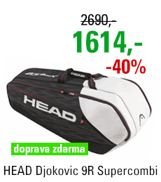 HEAD Djokovic 9R Supercombi 2017