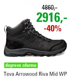 Teva Arrowood Riva Mid WP 1018741 BLK