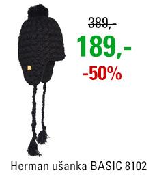 Ušanka BASIC 8102 NOIR