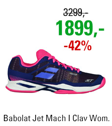 Babolat Jet Mach I Clay Women Blue/Pink