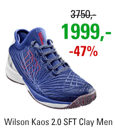 Wilson Kaos 2.0 SFT Clay Men Blue