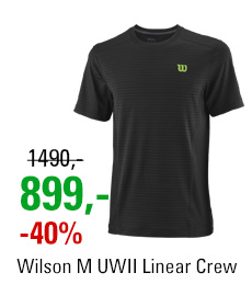 Wilson M UWII Linear Crew Black/Green