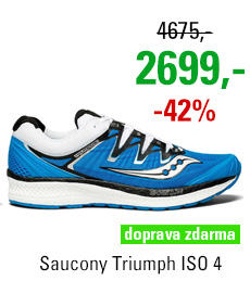 Saucony Triumph ISO 4 Blue/Black/White