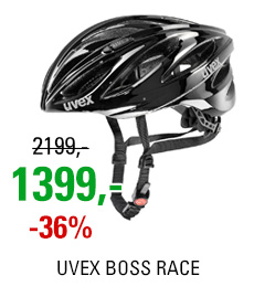 UVEX BOSS RACE, BLACK 2017