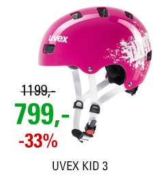 UVEX HELMA KID 3, PINK DUST 2018