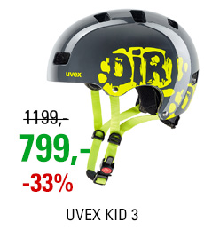 UVEX KID III, DIRTBIKE GREY-LIME 2017