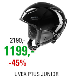 UVEX P1US JUNIOR black S566180200 16/17