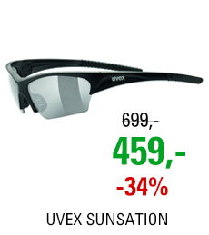 UVEX SUNSATION, BLACK MAT/SMOKE