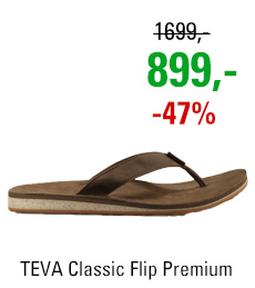 TEVA Classic Flip Premium Leather 1009037 DKEA
