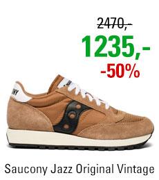 Saucony Jazz Original Vintage Brown/Black