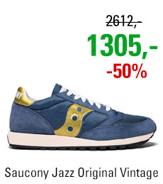 Saucony Jazz Original Vintage Navy/Gold