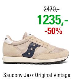 Saucony Jazz Original Vintage Tan/Navy
