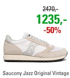 Saucony Jazz Original Vintage White