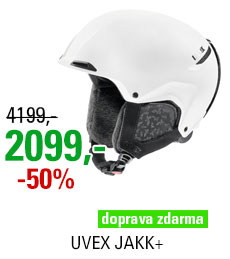 UVEX JAKK+ style white mat S566208100 18/19