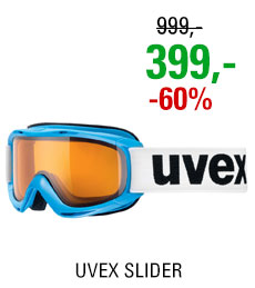 UVEX SLIDER cyanblue/lgl clear S5500244029