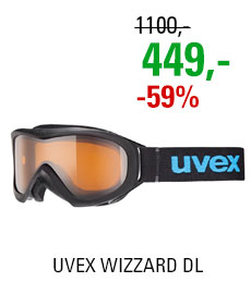 UVEX WIZZARD DL black/lg clear S5538122422 15/16