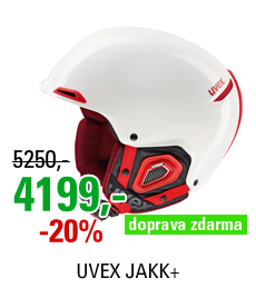 UVEX JAKK+ white/red S566182130