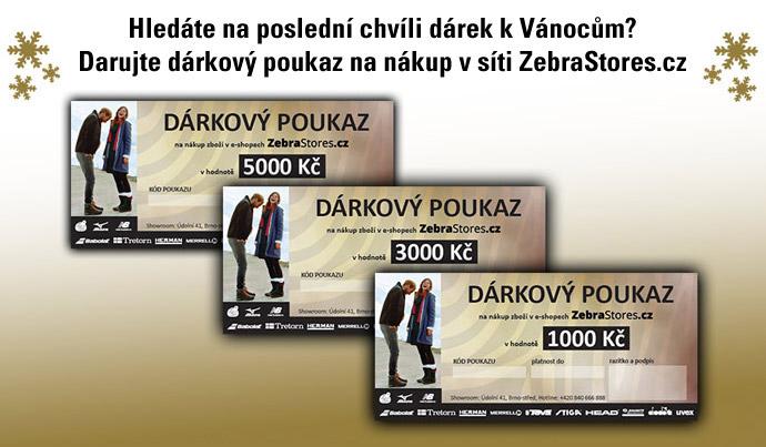 Dárkové poukazy ZebraStores.cz