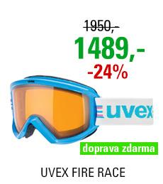 UVEX FIRE RACE, cyan/lasergold lite S5505074929