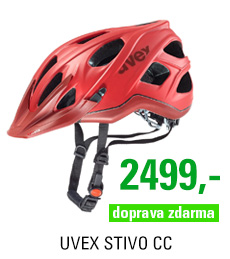 UVEX STIVO CC, RED-DARK RED MAT