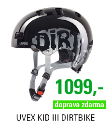 UVEX KID III, DIRTBIKE BLACK
