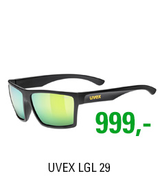 UVEX LGL 29, BLACK MAT/MIR. YELLOW