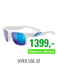 UVEX LGL 22, WHITE BLUE
