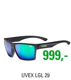 UVEX LGL 29, BLACK MAT/MIR. GREN