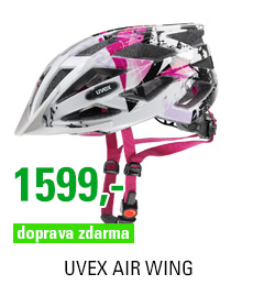 UVEX AIR WING, WHITE-PINK 2016