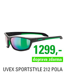 UVEX SGL 212 pola BLACK GREEN