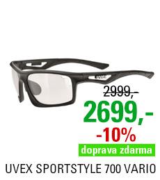 UVEX SGL 700 VARIO, BLACK MAT
