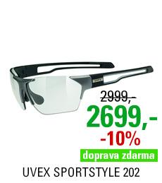 UVEX SGL 202 VARIO, GUN/BLACK MAT