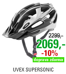 UVEX SUPERSONIC, DARK SILVER-BLACK 2016