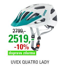 UVEX QUATRO LADY, WHITE MAT-MINT 2016