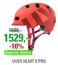 UVEX HLMT 5 PRO, RED MAT 2016