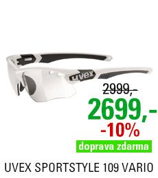 UVEX SGL 109 VARIO, WHITE BLACK