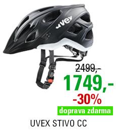 UVEX STIVO CC, BLACK-WHITE MAT