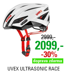 UVEX ULTRASONIC RACE, WHITE-BLACK