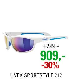 UVEX SGL 212 pola WHITE BLUE