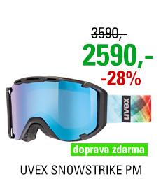 UVEX SNOWSTRIKE PM, black mat/ltm blue S5504182226