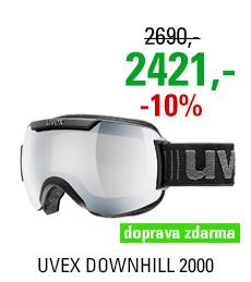 UVEX DOWNHILL 2000, black/ltm silver S5501090326