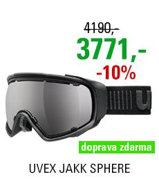 UVEX JAKK SPHERE, black mat/black S5504322026
