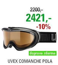 UVEX COMANCHE POLA, black mat/pola brown S5510962321