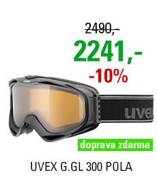 UVEX G.GL 300 POLA, black mat/polavision/clear S5502142221