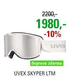 UVEX SKYPER LTM, white mat/ltm silver S5504211126