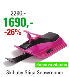 Skiboby Stiga Snowrunner Pink