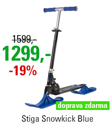 Scooter Stiga Snowkick Blue